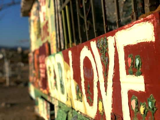 Love sign showing hope