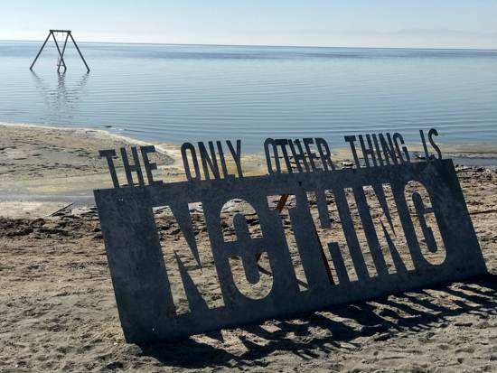 The only other thing is nothing sign showing cynicism